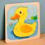 miniature 15 - Mignon Coloré en Bois Puzzle Baby Kids Toddler Jigsaw Animal À faire soi-même Learning Toy UK