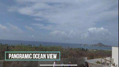 Terreno en Venta en Cabo San Lucas con vista en fraccionamiento privado $110,000 Dlls
