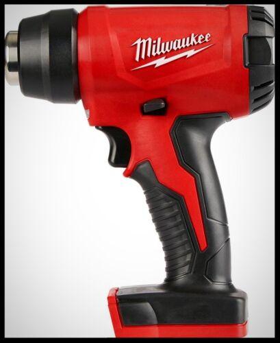 MILWAUKEE M18 Cordless Heat Gun 18 V Compact Shrink Warp Tube Tint Heating Tool