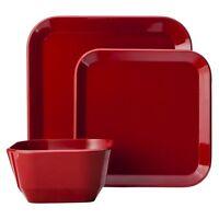 12 Piece Square Dinnerware Set - Room Essentials&153;