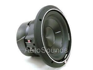 """PUNCH P3 10/"""" DVC 2-OHM SUBWOOFER 1,000 WATTS  **NEW** P3D2-10 ROCKFORD FOSGATE"""