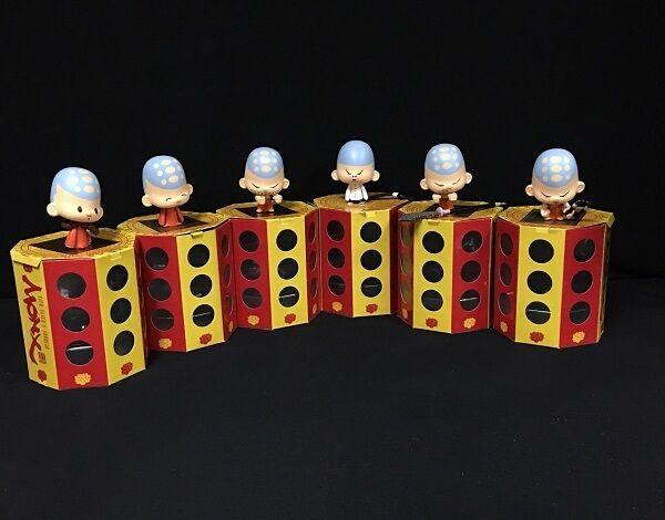 STD TOYS - Student Monx (6pcs Set) Vinyl Figures - STD-Monx-A1