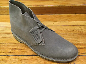 mens clarks originals desert boot taupe distressed 26110054 ebay