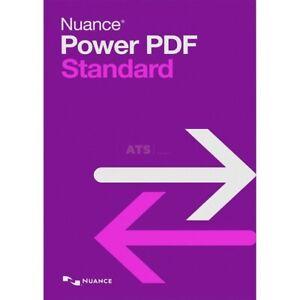 Nuance Power PDF Standard 2 (R 2.1) Vollversion GreenIT DE EN FR IT SP RU NL