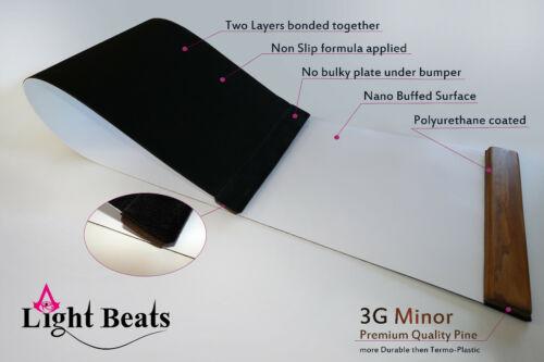 long environ 1.83 m 3 G mineur Premium épaisse slide board NEUF Nano poncé surface 6 ft