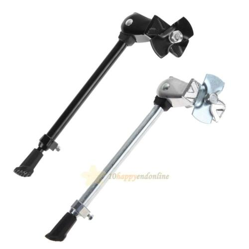 Adjustable Heavy Duty Bike Bicycle Cycling Kick Stand Rubber Foot Frame Fitting