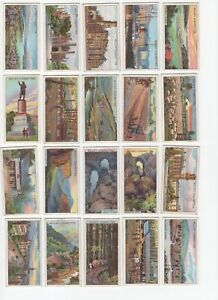 1915-Wills-039-s-Overseas-Dominions-Australia-Tobacco-Cards-Complete-Set-of-50