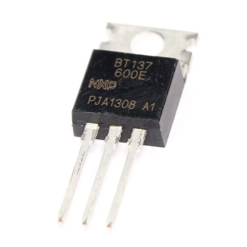 5PCS BT137-600E BT137 TO-220 600V 8A Triacs NEW