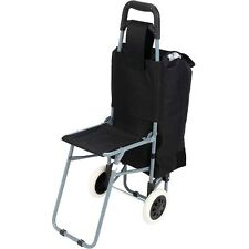 Overnight Carry On Rolling Bag W/ Folding Chair, Mens Overnight Trolley  Luggage