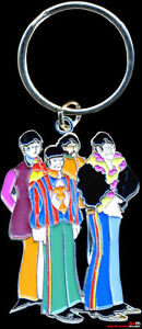 THE-BEATLES-YELLOW-SUBMARINE-BAND-KEY-RING-OFFICIAL-LICENCED-PRODUCT-SUPERB-GIFT