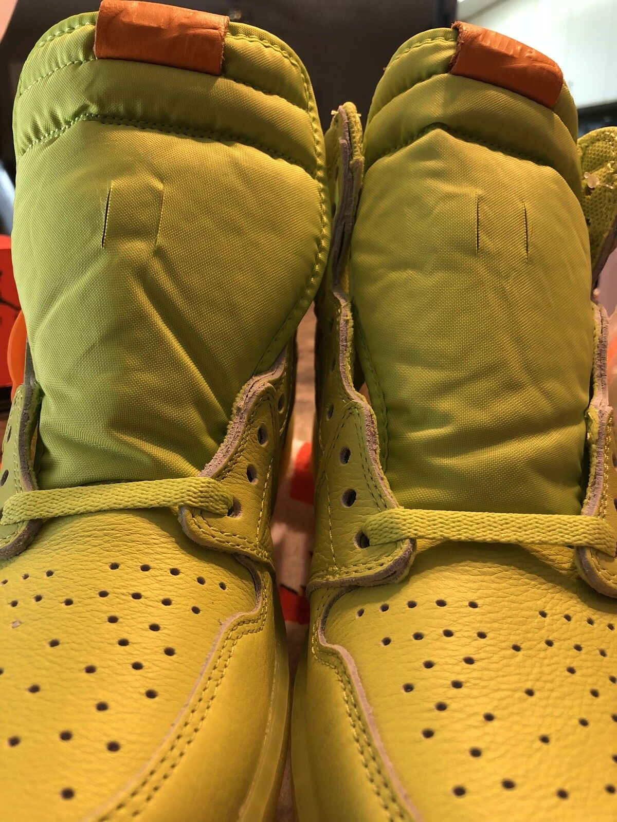 Nike Air Jordan 1 Retro High Gatorade US Lemon Lime size 10 US Gatorade NIB d76b04