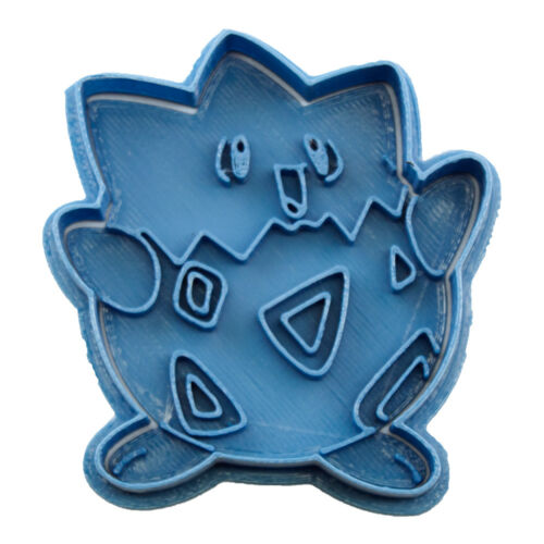 Cortador de Galletas Azul 8x7x1,5cm Cuticuter Pokemon Togepi Cookie Cutter Blue