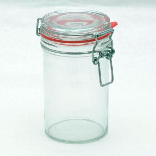 500 ml x16 Stück Drahtbügelgläser • Bügelverschlussgläser mit Deckel • Gläser mi