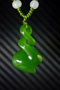 Chinese-Natural-bright-green-jade-nephrite-hand-carved-spiral-jade-pendant