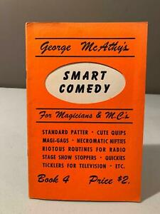 VINTAGE The APPLAUSE CARD Magician supply by George McAthy