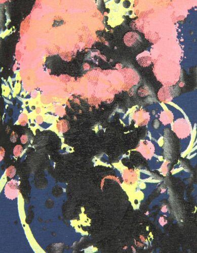 GF Ferre splash paint tee navy