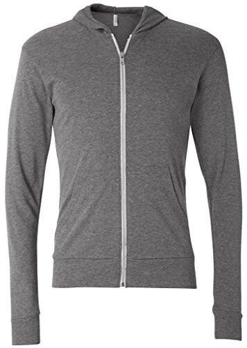 Mens Full-Zip Lightweight Hoodie