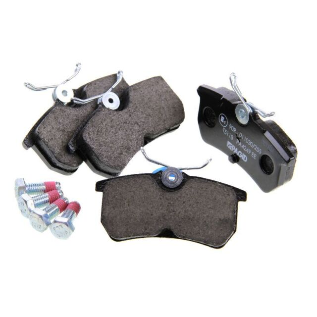 Ford Fiesta MK6 Focus MK1 Pagid Rear Brake Pads Set Lucas System Low-Metallic