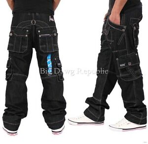 Peviani-Para-Hombre-Disenador-Jeans-de-carga-de-combate-es-hora-de-dinero-Pantalones-Pantalones