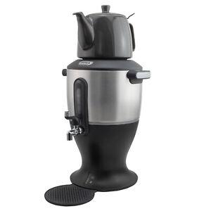 Mulex-Samowar-Teekocher-Wasserkocher-Frischer-Tee-automatische-Warmhaltefunktion