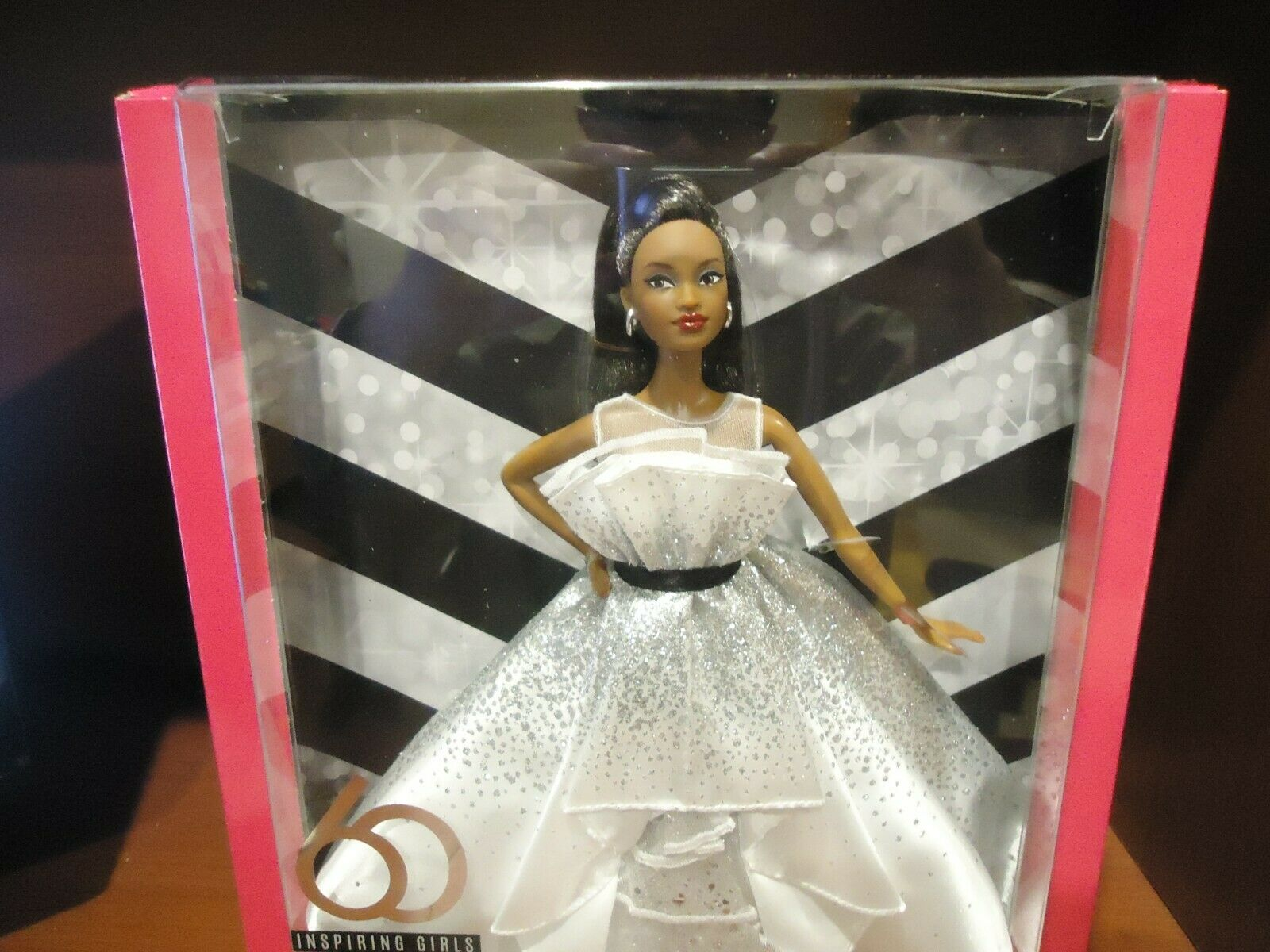 2019 Barbie Doll 60th Anniversary Celebration African American FXC79