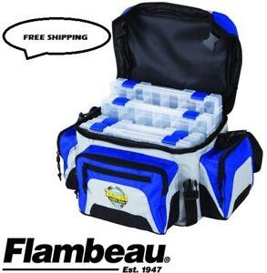 Flambeau-400ZE-Fishing-Tackle-Box-Bag-Zerust-400-Series-Soft-Tuff-Tainers-6340ZE