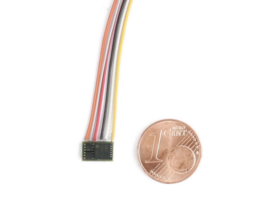 DH pd05a-3 - Nano-Lokdecoder pd05a  per sx1, sx2 e DCC con trefoli-Spur N  caldo