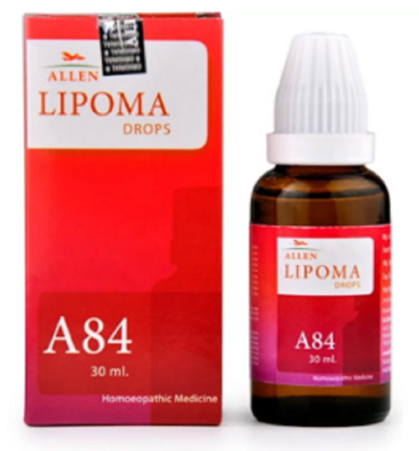 5 X Allen A84 Lipoma Drop (1 bottle of 30 ml) Helps Decreasing Lipoma Size