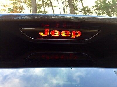 Sticker Jeep Grand Cherokee HEMI 3rd Brake Light Decal