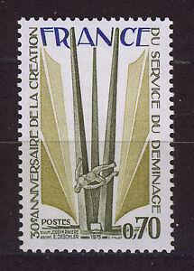 FRANCIA-FRANCE-1975-MNH-SC-1454-Land-mine-demolition-service