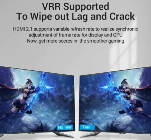 Vention Premium 8K HDMI 2.1 Cables 60Hz HDR10 eARC 3M For Gaming etc