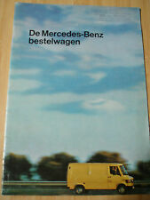 Mercedes Vans brochure May 1979 Dutch text