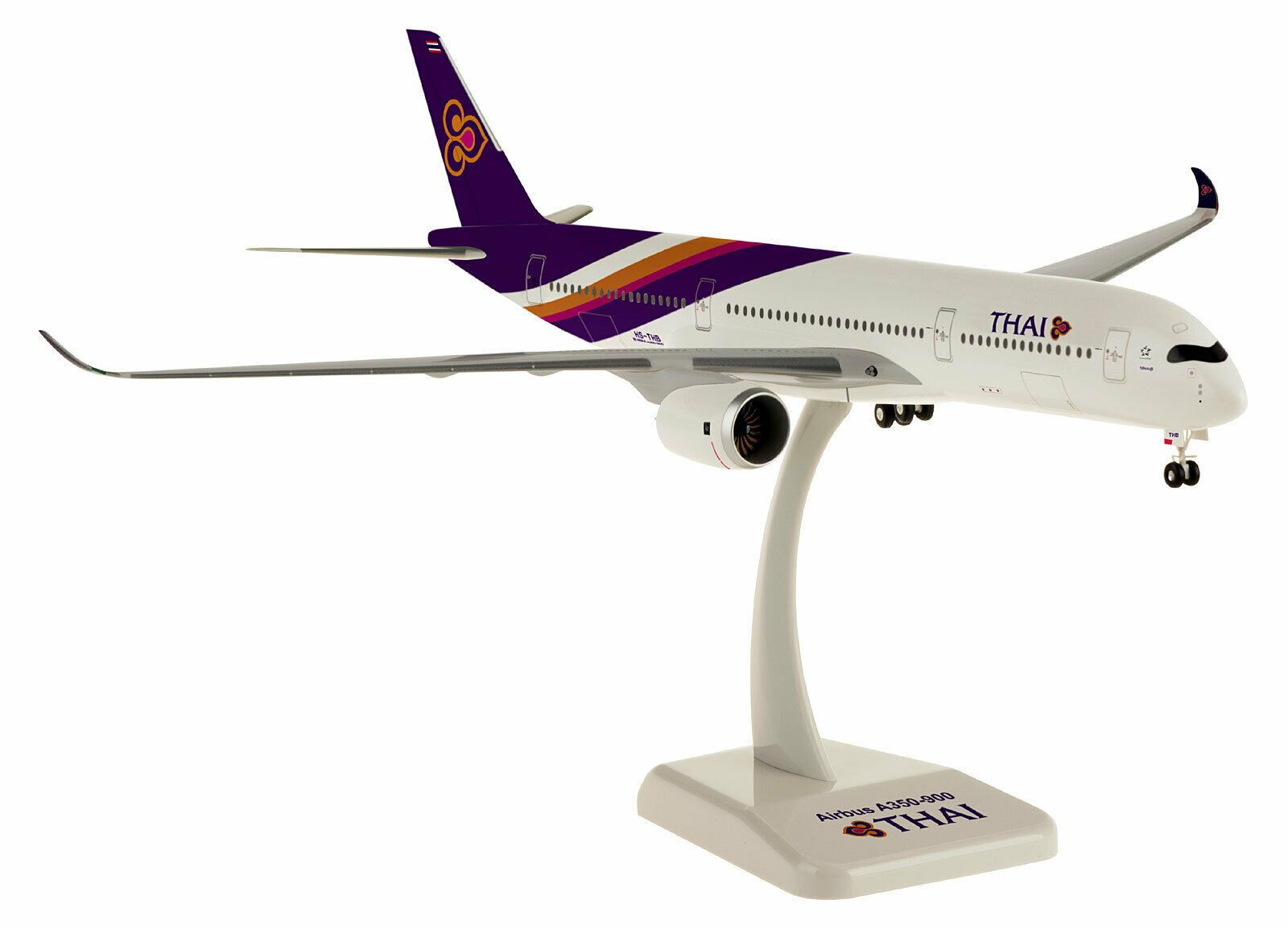 THAI Airways-Airbus a350-900 - 1:200 - HOGAN Wings 10703-modello a350 HS-THB