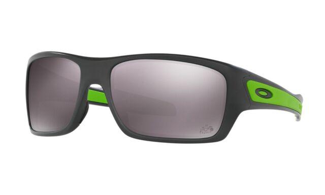 fa2b2315e9a Oakley OO9263-27 Turbine Polarized Sunglasses Matte Dark Grey W Prizm Daily  Lens