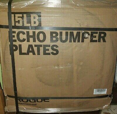 Gym Rogue Fitness Echo Bumper Plates 10lb *Pair* Black ✅ SHIPS NOW ✅ BRAND NEW