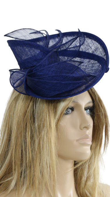 John Charles London 26735 Navy Mother Of the Bride Fascinator Wedding Formal Hat