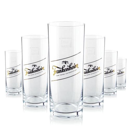 Gläser 0,25l Bierglas Gastro Bar Deko NEU 6 x Frankenheim Glas
