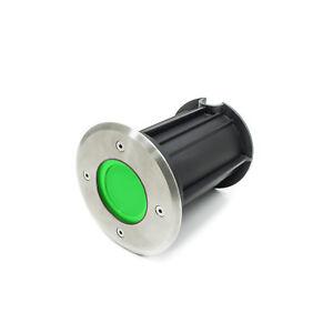 A-Pietiner-LED-Lumiere-Vert-5w-GU10-IP65-Compte-Pas-Projecteur-10cm-Encastre-Sol
