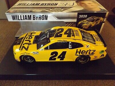 WILLIAM BYRON #24 2020 HERTZ ELITE 1//24 SCALE NEW IN STOCK FREE SHIPPING