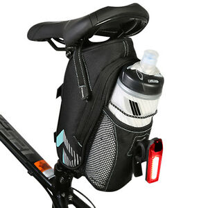 Cycling Bicycle Saddle Bag Pannier Bike Seat Tail Storage