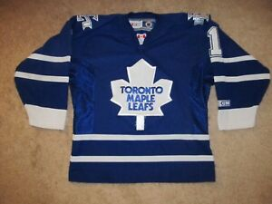 low priced 6f943 d76fa Details about VTG Andrew Raycroft Toronto Maple Leafs NHL Hockey  Jersey-Youth S / M-CCM
