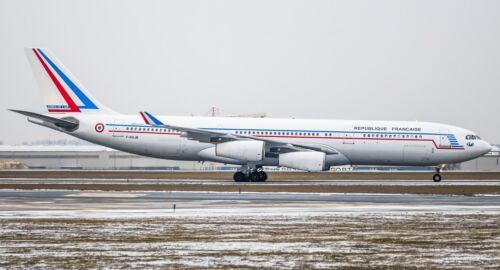 INFLIGHT 200 IF342FAF01 1//200 FRANCE AIR FORCE AIRBUS A340-200 F-RAJB W//STD