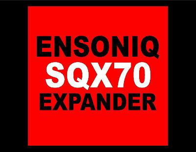 Ensoniq SQX-70 for TS10 TS12 SD1 SQ1 SQ2 KS PLUS upgrade Sequencer Expansion kit