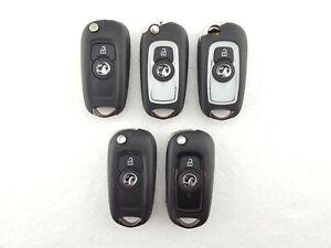 5-x-Vauxhall-Astra-K-Corsa-E-Etc-2-Button-Key-Fobs-Job-Lot-Tested