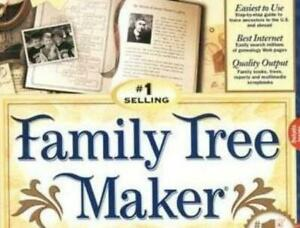 Family Tree Maker 6 Pc Cd Track Information Genealogy Data Research Software Ebay