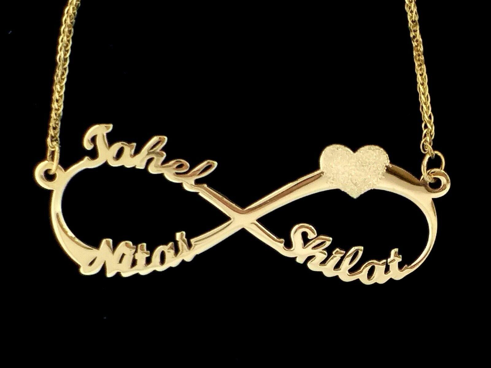 children 14K solid gold Necklace,children pendant,children gold chain,Gold children Necklace,Pendant of children,children/'s names,mom neckla