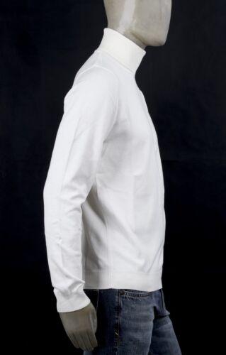 Rasato Bianco Markup Viscosa Dolcevita In Latte Maglia Slim IxpgRg