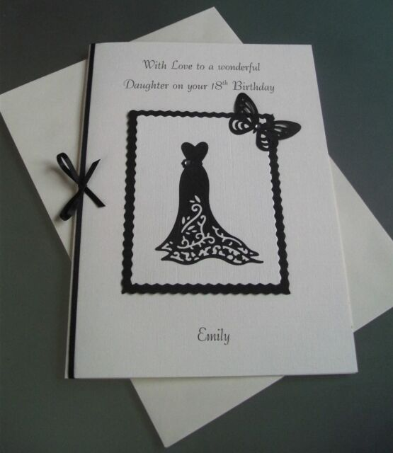 Personalised Birthday Cards For Any Age Or Relation Collection On Ebay