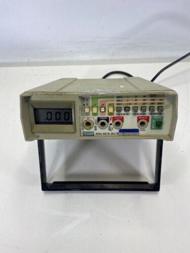 Fluke Model 8010A Benchtop Digital Multi-Meter 60Hz Tested and Working