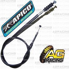 Apico Black Clutch Cable For Suzuki RM 125 1994-1997 94-97 Motocross MX Enduro